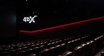 4DX zaal gerealiseerd bij Pathé Arena in Amsterdam